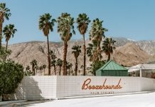 Boozehounds Palm Springs outside view